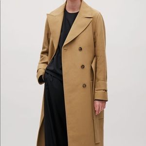 COS Trench Coat Camel US4